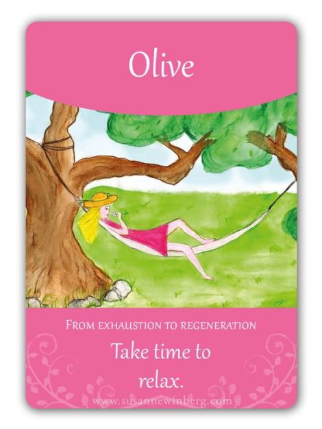 Olive – La flor de Bach delcansancio